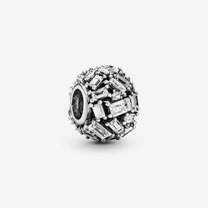 Pandora  Clear Ice Cube Charm